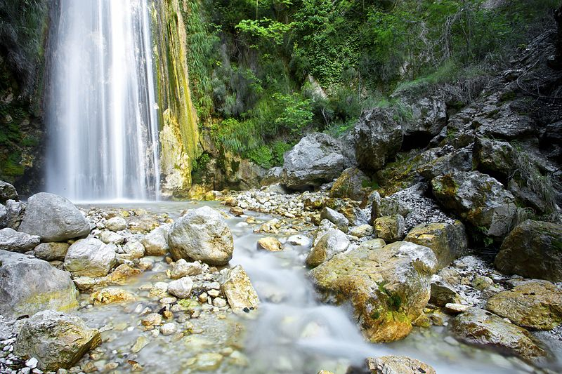 Cascata di Senerchia_visita ad avellino