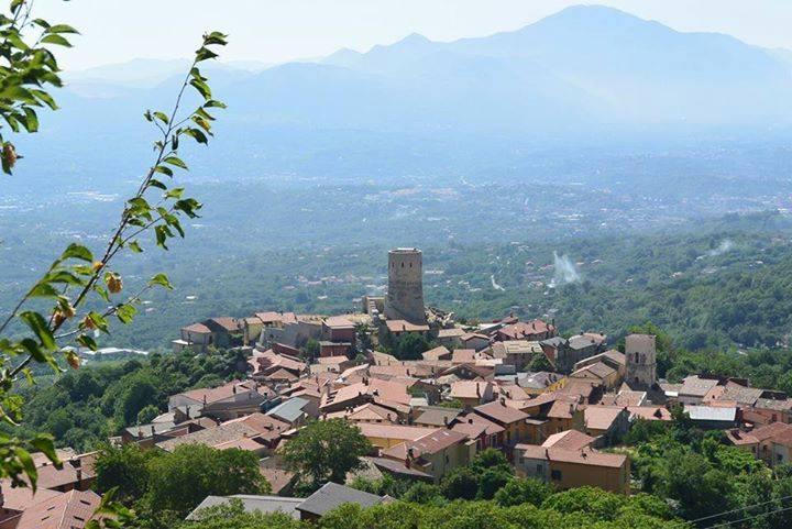 Vista sul borgo di Summonte