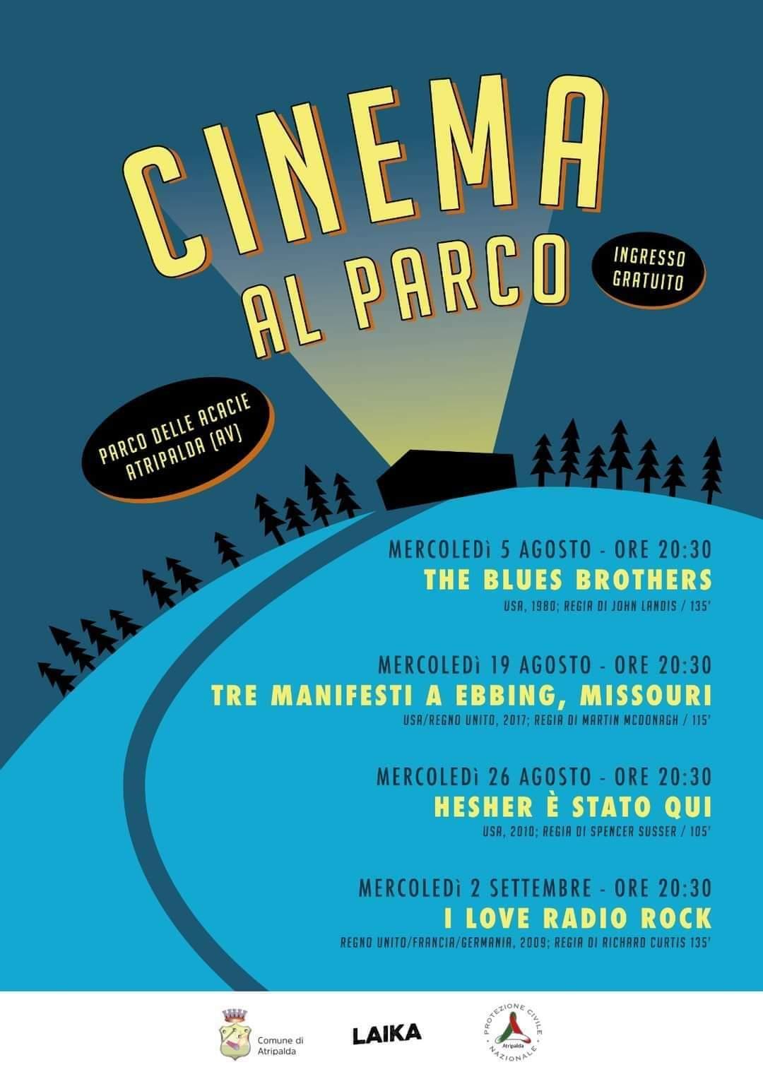 Cinema al parco Atripalda