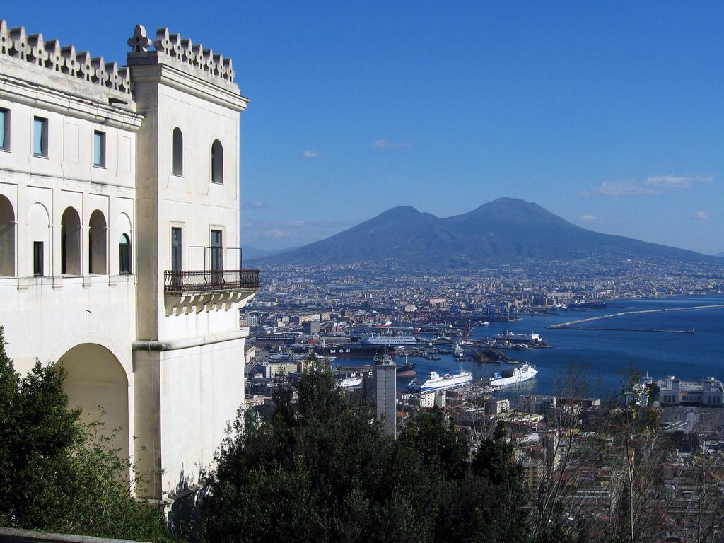 La Certosa e il Vesuvio