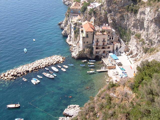 Conca dei Marini sulla Costiera Amalfitana