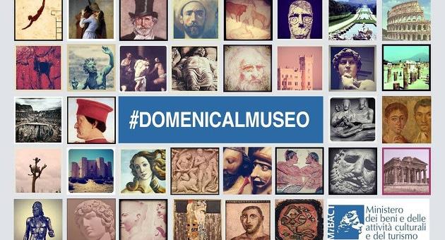Domenica gratis al museo
