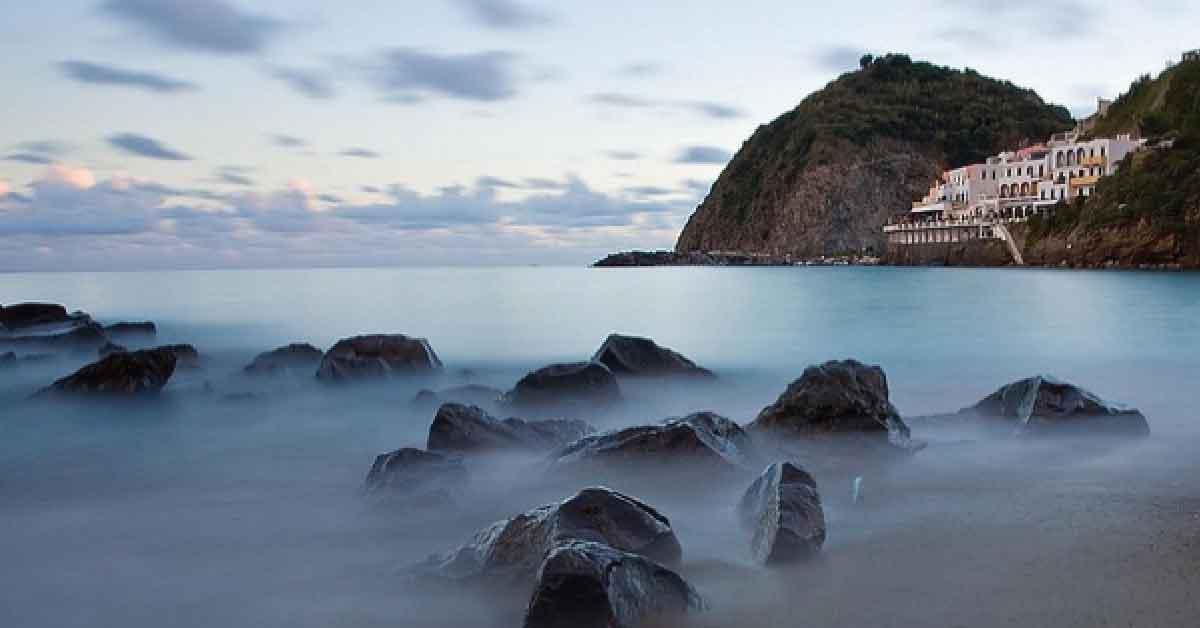 Terme e spa in Campania. Fumarole di Ischia