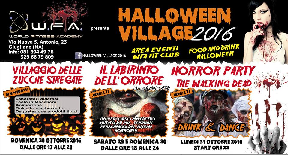 Halloween tour a Napoli