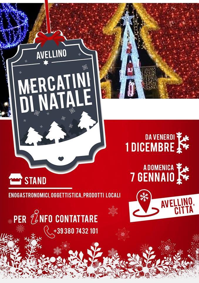 Mercatini di Natale ad avellino e provincia