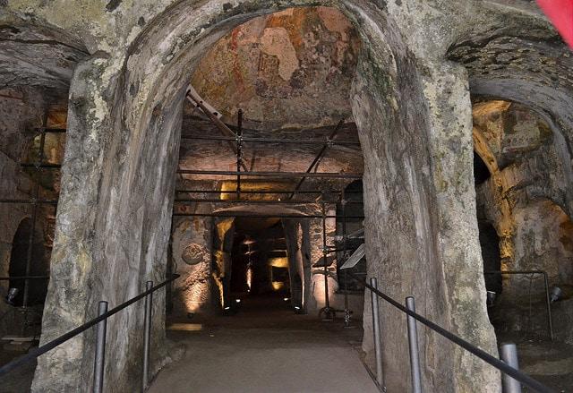 Visita alle Catacombe di San gennaro