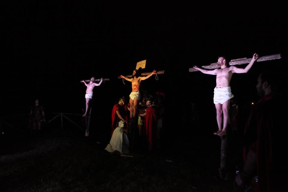 La via crucis di Misciano