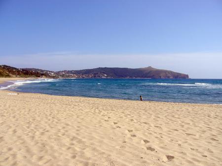 spiaggia delle saline palinuro