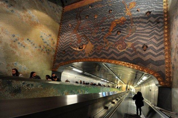 Stazioni del'arte a Napoli. Stazione Materdei