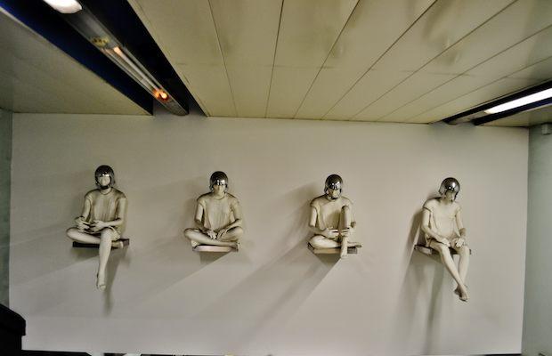 Stazioni dell'arte a Napoli. Stazione di Quattro Giornate