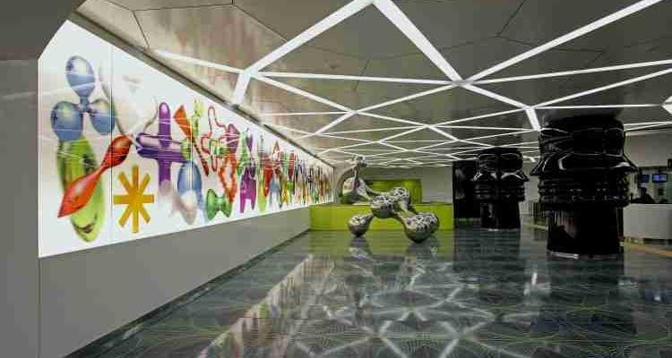 Stazioni dell'arte a Napoli. Stazione di Università
