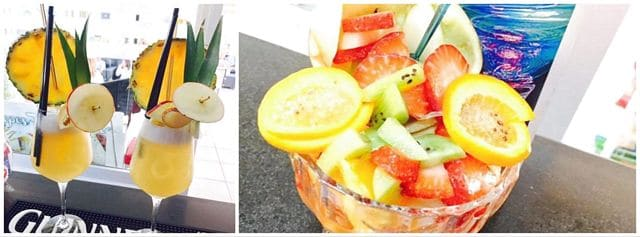 Il chiosco e la frutta