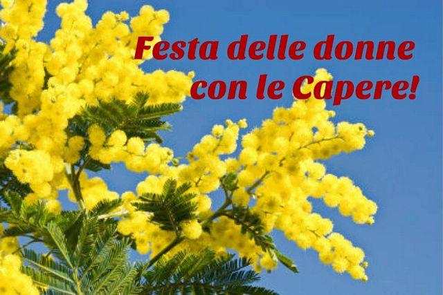 Donne napoletane: festa delle donne con le Capere