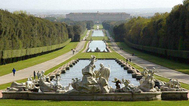 Un trekking reale visita al parco della reggia di caserta - Giardini reggia di caserta ...